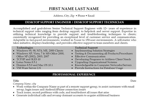 technical support assistant sample resume shalomhouse us