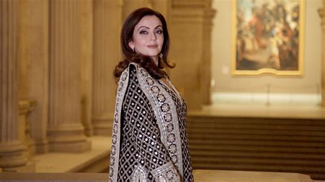vogue and the metropolitan nita ambani gets felicitated by the metropolitan museum of art