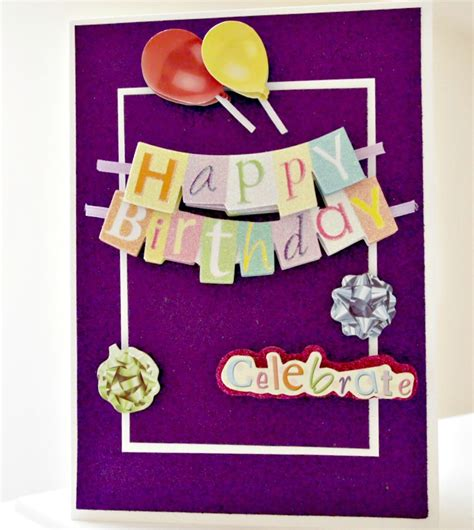 how to make a photo card easy birthday card no fancy tools required live