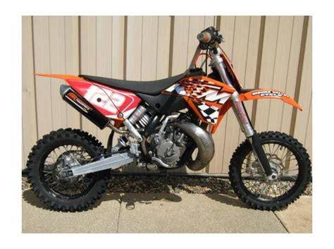 2009 Ktm 125 Sx For Sale 2009 Ktm 65 Sx For Sale On 2040 Motos