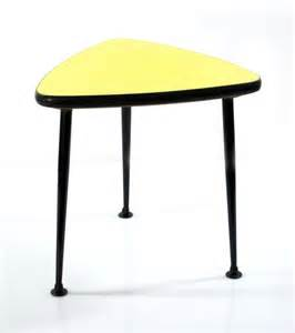 Retro Side Table Fifties Metal And Glass Side Tables Vintage Chairs Ls Bom Design Furniture Eames Cees