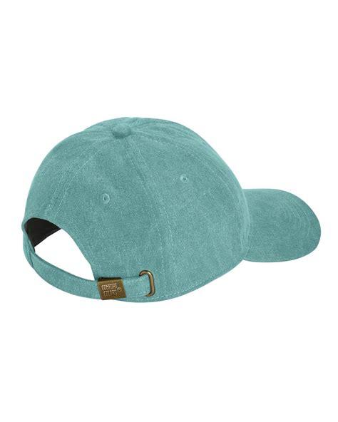comfort color hats comfort colors 104 pigment dyed canvas baseball cap
