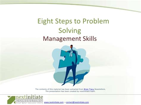 8 Steps To by Eight Steps To Problem Solving
