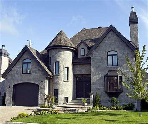 modern castle floor plans using stone plan 9042pd dramatic stone tower bonus rooms modern