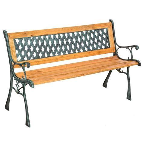 agréable Meilleur Engrais Pour Jardin #3: banc-de-jardin-en-bois-et-fonte-tectake-128-cm-x-5.jpg