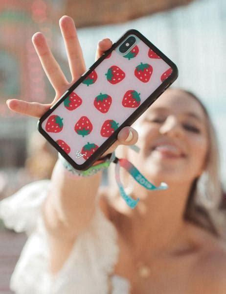 strawberry iphone  case wildflower cases