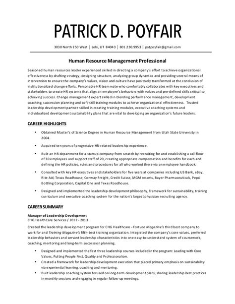 Traditional Resume by Pat Poyfair S Traditional Resume