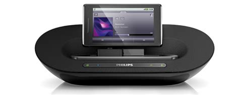 speakers for android phone phillips introduces fidelio universal speaker dock for android phones and tablets