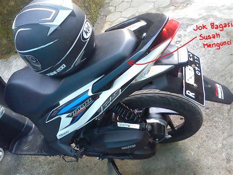 Bagasi Vario Techno masalah pada vario techno 125 nakawara s the masked rider