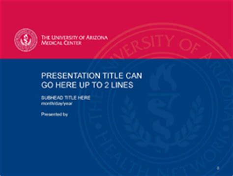 the university of arizona health network powerpoint