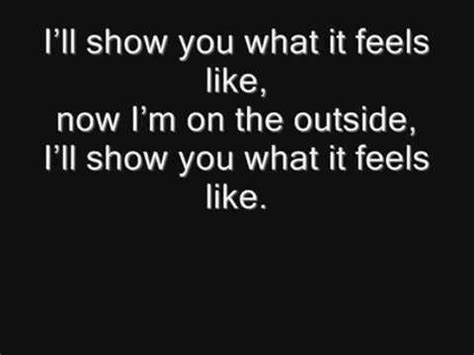 On The Patio Lyrics by Calvin Harris Outside Ft Ellie Goulding Lyrics E