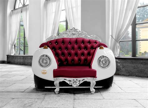 Car Armchair by Beetle Armchair Unconventional Style Meets Bold