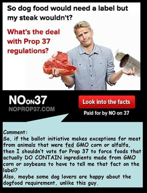 6 reasons why prop 37 has not failed gmo free idaho the mathisen corollary straw arguments against proposition 37 and a trip to the grocery