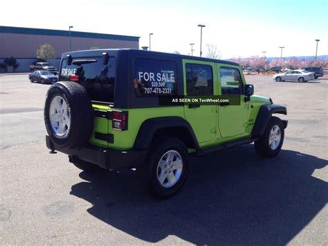 2012 4 Door Jeep Wrangler by 2012 Jeep Wrangler Unlimited Sport Sport Utility 4 Door