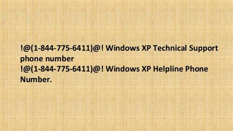 microsoft 1 844 775 6411 windows xp tech support phone