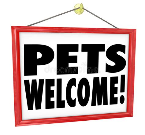 pets welcome allowed permitted store business building