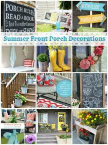 Vintage Fourth Of July Decorations Summer Front Porch Decorating Ideas Tauni Co