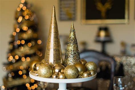 kara s party ideas modern black gold christmas party