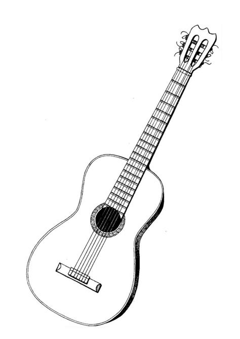 imagenes guitarras blancas im 225 genes de guitarras para colorear colorear im 225 genes