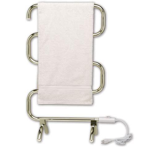 Heated Towel Bar Classic Heated Towel Rack Polished Brass In Towel Warmers
