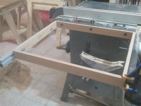 table saw extension wing adding a table saw extension wing jays custom creations