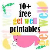 10+ free get-well-soon printables - Gute Besserung Druckvorlagen ...