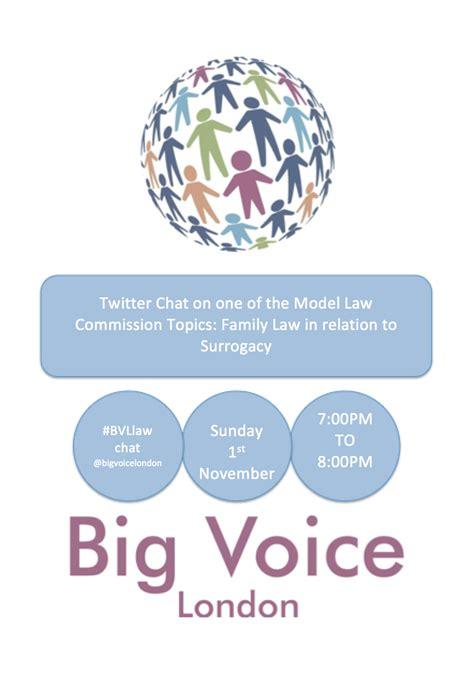 law commission big voice london model law commission surrogacy