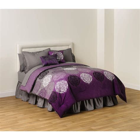 plum comforter cannon reversible comforter plum ombre home bed
