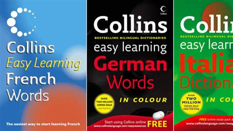 0007253494 collins easy learning french dictionary collins easy learning dictionaries by harpercollins on