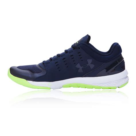 armour sports shoes armour charged stunner womens navy blue