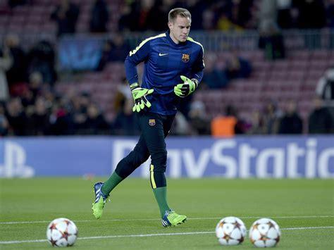 barcelona goalkeeper history barcelona goalkeeper hailed as best in the world