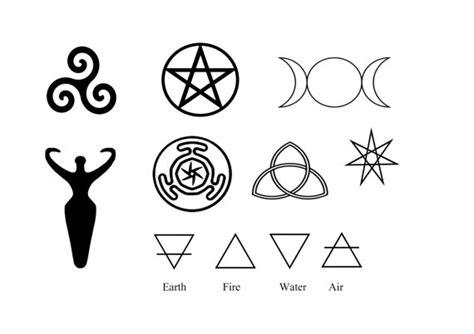 pagan symbols body art goddess symbol wiccan symbols