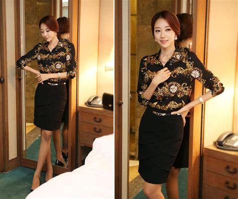 Tas Bahu Import Tas Bahu Wanita Kombinasi kemeja wanita motif unik terbaru 2014 model terbaru