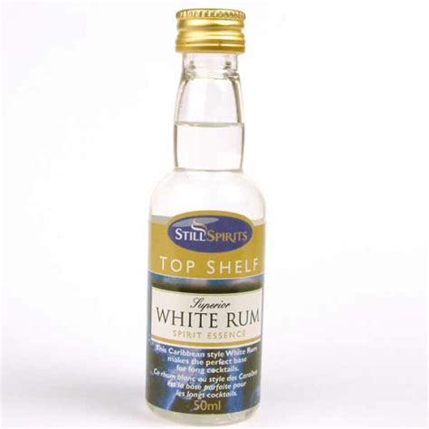 Rum Top Shelf by Top Shelf Spirits White Rum Supplied By Dowricks Goodlife