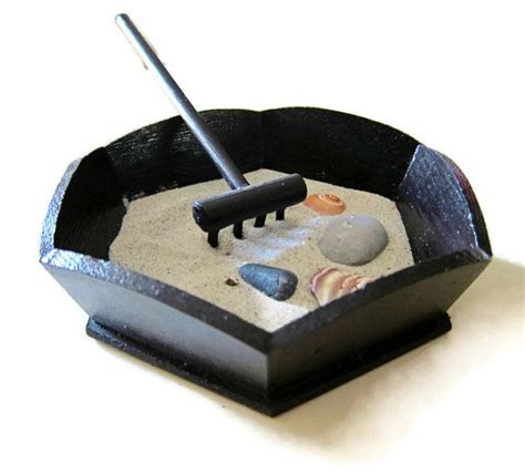 Relaxing Desk Items by Miniature Zen Garden Meditation Tools And Relaxation