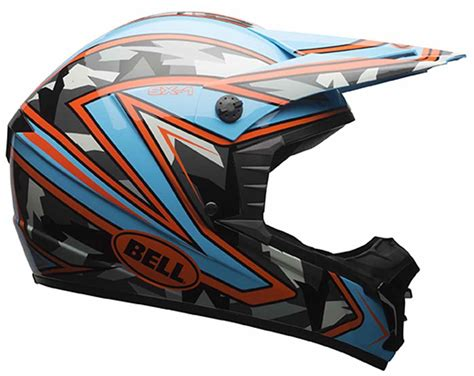 youth bell motocross helmets bell sx 1 helmet off road dirt bike mx motocross dot