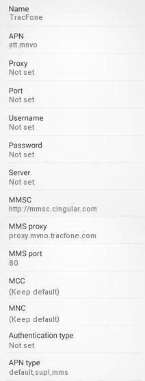 family mobile apn settings for android tracfone apn settings for android 4g lte apn usa