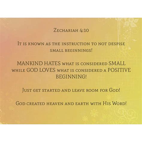 what is considered a small bedroom zechariah 4 10 it is known as the instruction to not