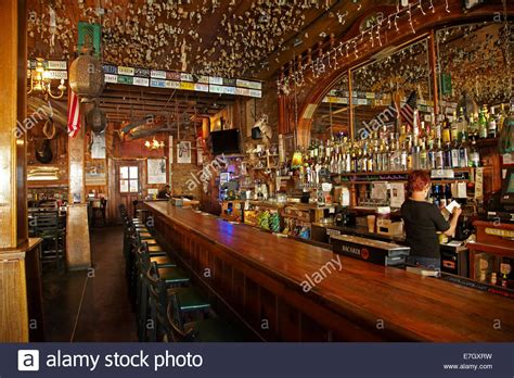interior of the iron door saloon claimed to be the oldest