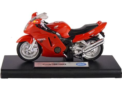 Die Cast Motor Honda Rc 51 honda cbr1100xx diecast 1 18 motorcycle welly die cast 12143