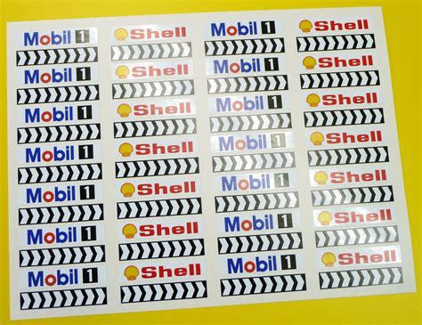 Scalextric Slot Cars Sticker Track Barrier Bangunan Logo Auto Slopc028 Slot Car Scalextric 1 32nd Barrier Stickers Decals Shell