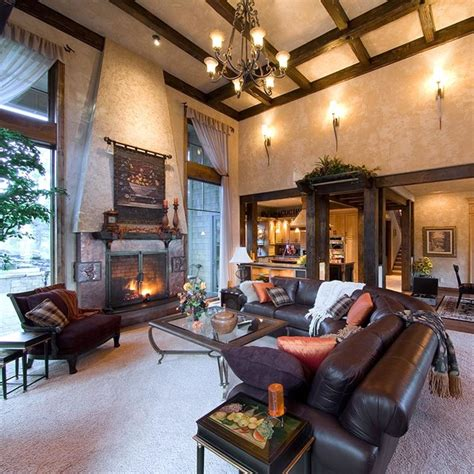 tuscan style interiors for a bend or home traditional