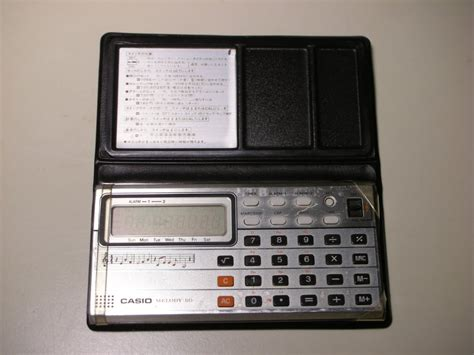 Casio Vintage Melody vintage casio melody 80 portable calculator w padded