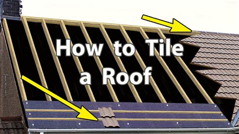 Best Way To Clean Awnings How To Tile A Roof With Clay Or Concrete Tiles New Roof
