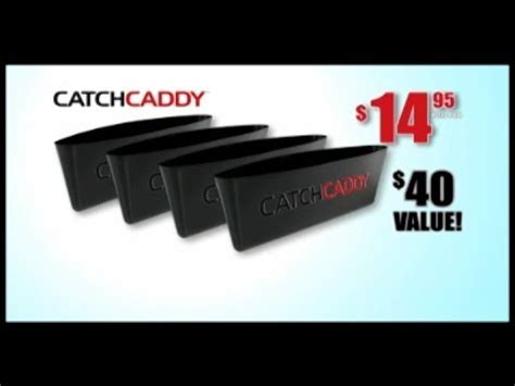 Catch Caddy As Seen On Tv 1 Set Isi 2pcs Unik as seen on tv catch caddy review as seen on tv