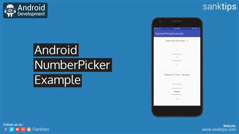 android number picker android popup menu exle sanktips
