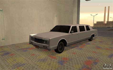 limousine driver limousine driver parallel lines of for gta san andreas