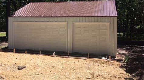 3 Car Garage Kit by Building A Menards 3 Car Garage Kit Steel Building Steel