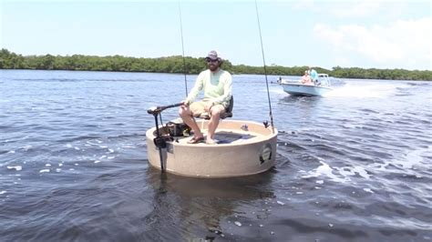 round small boat roundabout boat quot the one man round boat quot video review