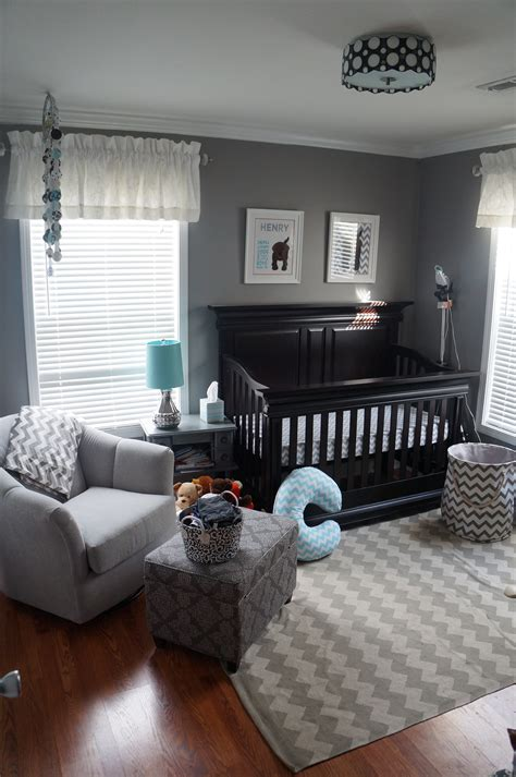 grey baby bedroom henry s chevron nursery project nursery